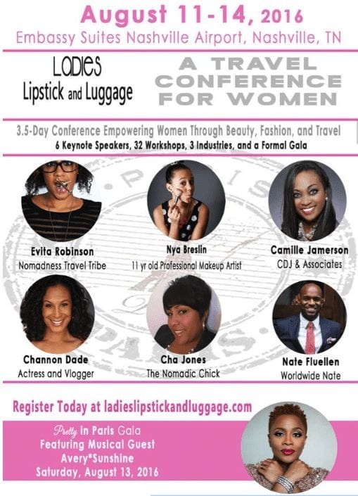 lipstick and luggage flyer